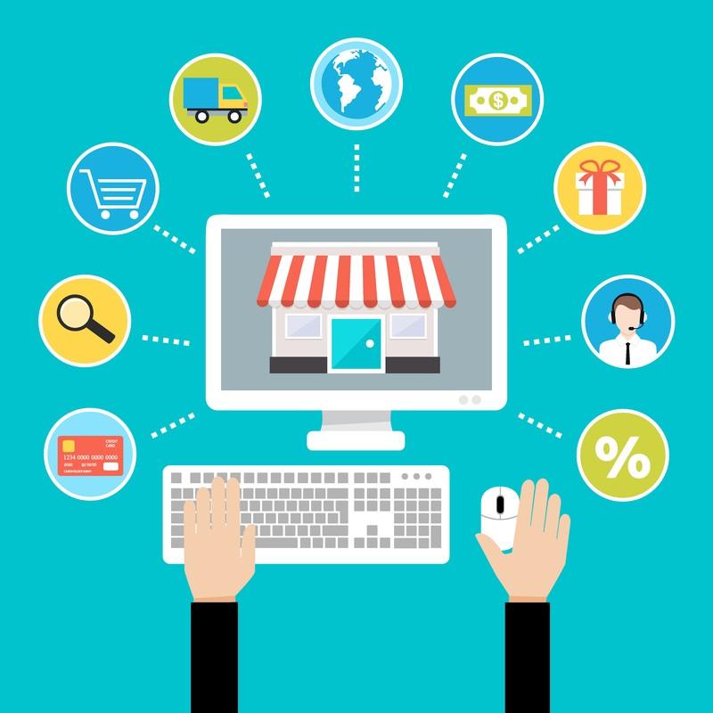 美国开电子商务网店,从小做起