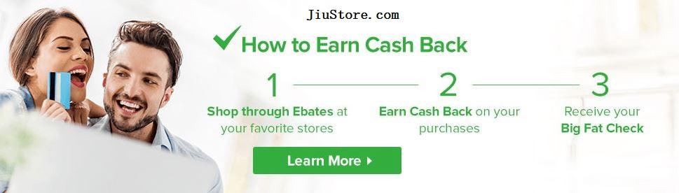 Ebates是如何运作的earn cash back