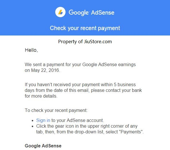 AdSense 赚钱